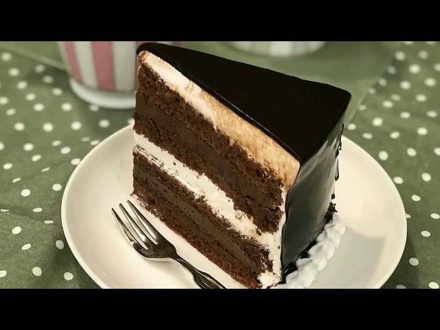 ????????? Dark and White Chocolate Cake