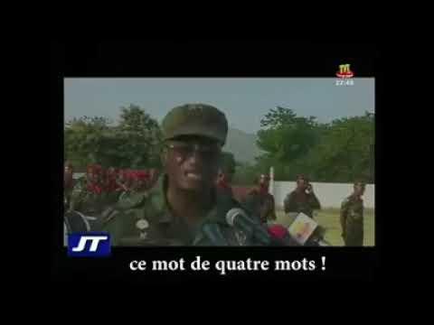 #Togo : Un Général de l'armée togolaise bombarde la langue de molière
