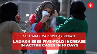 Covid-19 updates:  Ladakh sees five-fold increase in active Covid cases in 10 days