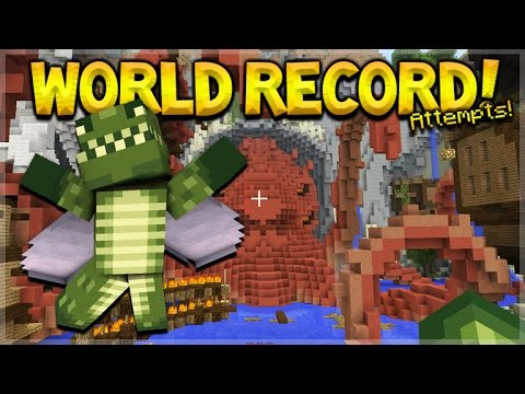 NEW RACE FOR THE WORLD RECORD!! Minecraft Console Edition - GLIDE Mini-Game Record