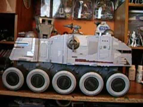 star wars clone turbo tank the clone wars review - youtube