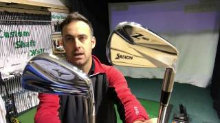 Mizuno MP-5 Iron v Srixon Z965 Iron - Blade Iron Head To Head
