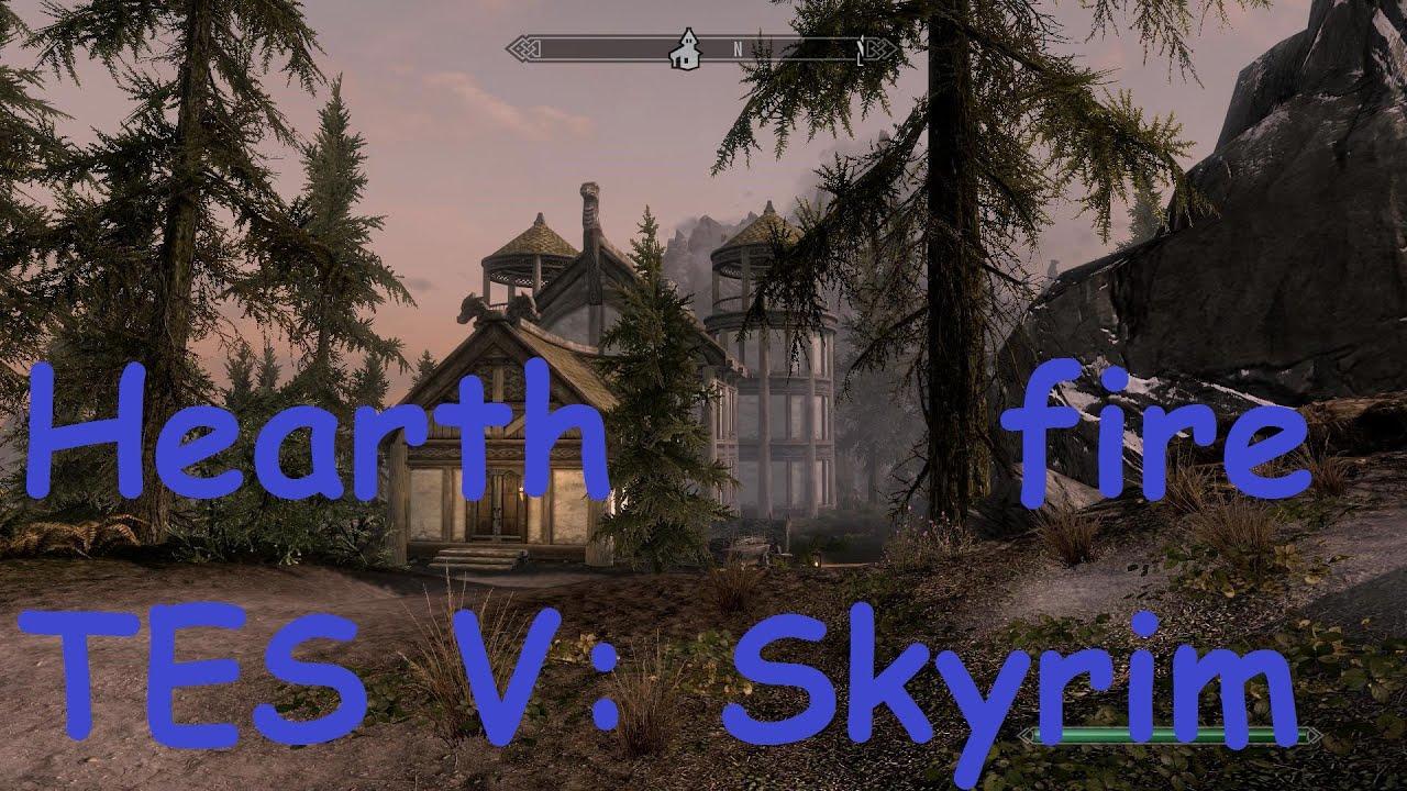 Skyrim Hearthfire Haus Bauen Und Einrichten Extras Youtube