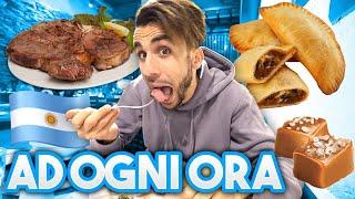 🍖🇦🇷 MANGIO CIBO ARGENTINO ad OGNI ORA per un GIORNO INTERO! | 24 ORE CHALLENGE
