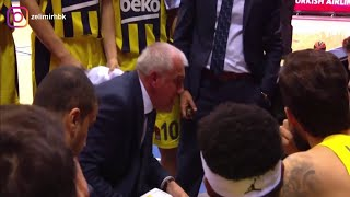 "Obradovic'i hiç böyle görmedik! | ""F**k you everybody! F**k you Gigi Datome! Shame on you!"" 💥🔥"