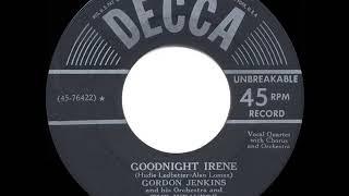 1950 HITS ARCHIVE: Goodnight Irene - The Weavers & Gordon Jenkins (a #1 record)