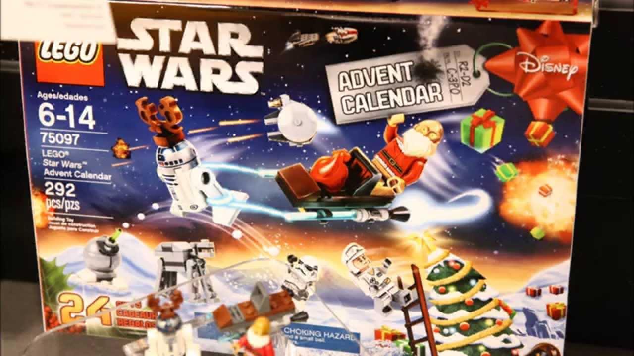 LEGO Star Wars 2015 Advent Calendar Analysis! HD - YouTube