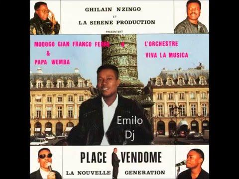 (Intégralité) Modogo Gian Franco Ferre, Papa Wemba & VLM - Place Vendôme 1989 HQ