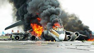 أكثر 10 حوادث طائرات فظاعة عبر التاريخ ..!