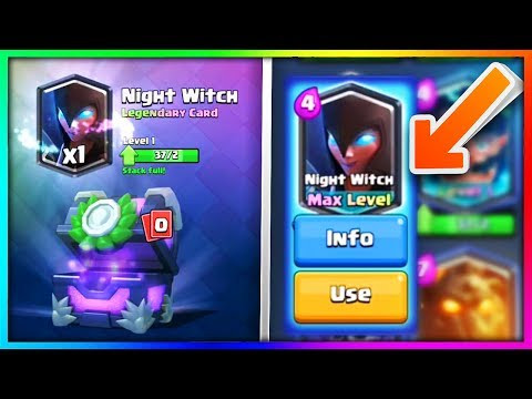 "NEW ""NIGHT WITCH"" CHEST OPENING & GEMMING! 
