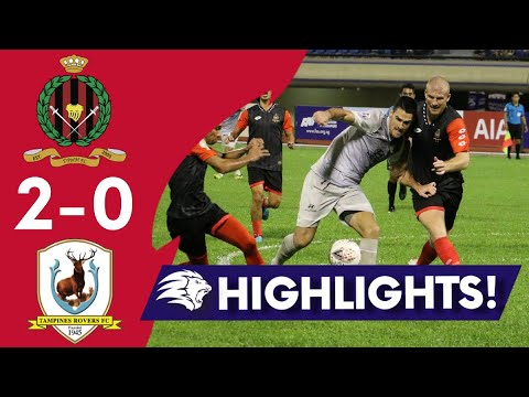 2020 AIA Singapore Premier League: Brunei DPMM vs Tampines Rovers