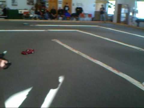Mid-America Speedway. January 2nd, 2010. Stock rubber tire sedan class, qualifier 1B.