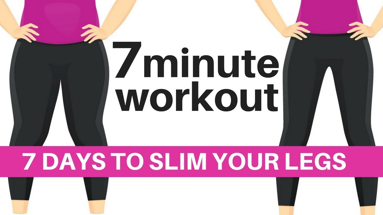 30 Day Challenge Results 7 Day Challenge 7 Minute Workout To Slim Your Legs Featured Success