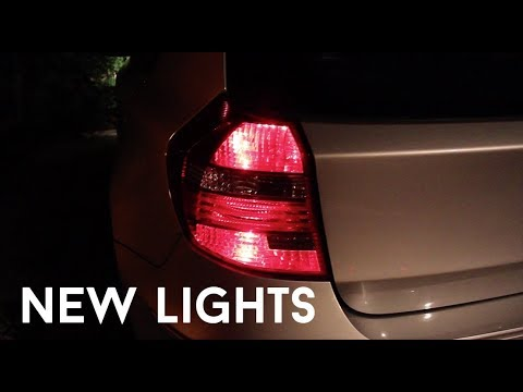 Cars: Fitting New LCI Tail Lights to My BMW 1 Series (E87)