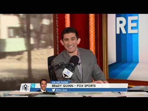FOX College Football Analyst Brady Quinn Talks Cleveland Browns & More - 12/2/16