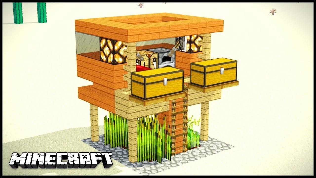 Minecraft Tuto Comment Faire Une Maison En Survie