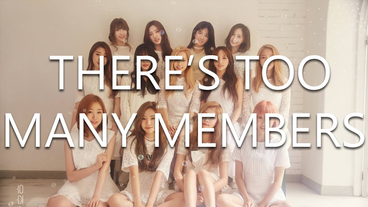 A bad guide to identifying WJSN members
