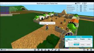 Neat Theme Park Tycoon! (Roblox) PART 2!
