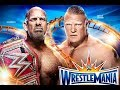 Wrestlemania 33 Goldberg Vs Brock Lesner 2016 orlando