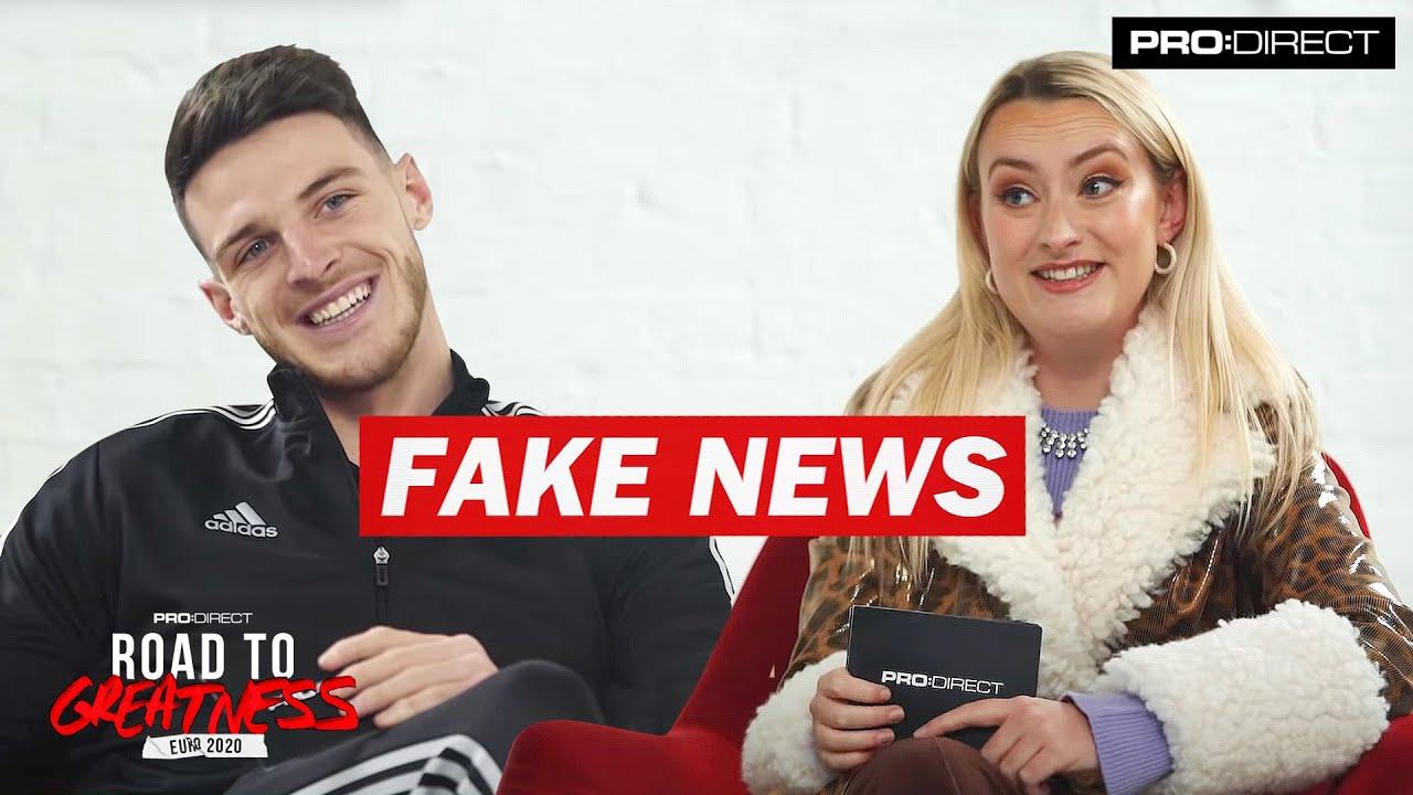 DECLAN RICE   FAKE NEWS WITH AMELIA DIMOLDENBERG