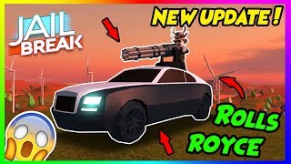 🔴ROBLOX JAILBREAK!! BIGGEST  UPDATE EVER RELEASE!! Come Join! 😃 | +GIVEAWAY