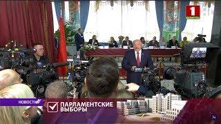 Лукашенко о провокациях на выборах: не хотим создавать напряженности вокруг этих скандалов / Видео