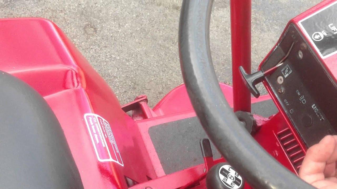 Steering Wheel Restoration >> 1977 Wheel Horse B80 Restoration - YouTube