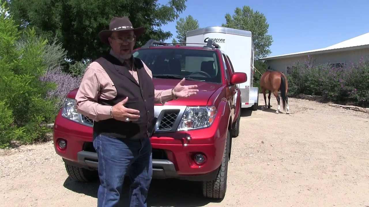 Nissan Frontier Pro 4x >> MrTruck review of Nissan Frontier 2013 Towing Cimarron ...