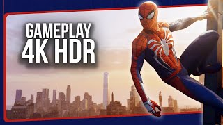 SPIDER-MAN PlayStation 4 - Gameplay HDR PS4 Pro