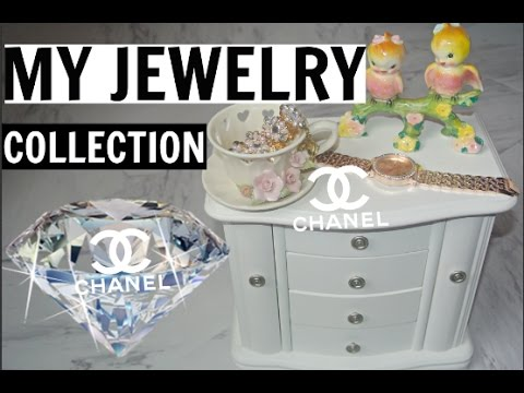 MY GIRLY JEWELRY COLLECTION 2017