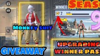   Upgr@ding winner p@ss in pubg mobile lite+GIVEAWAY  season 9  
