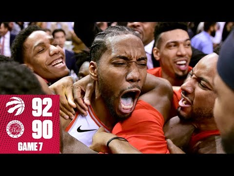 Kawhi sinks insane buzzer-beater to end the 76ers' season in Game 7  | 2019 NBA Playoff Highlights
