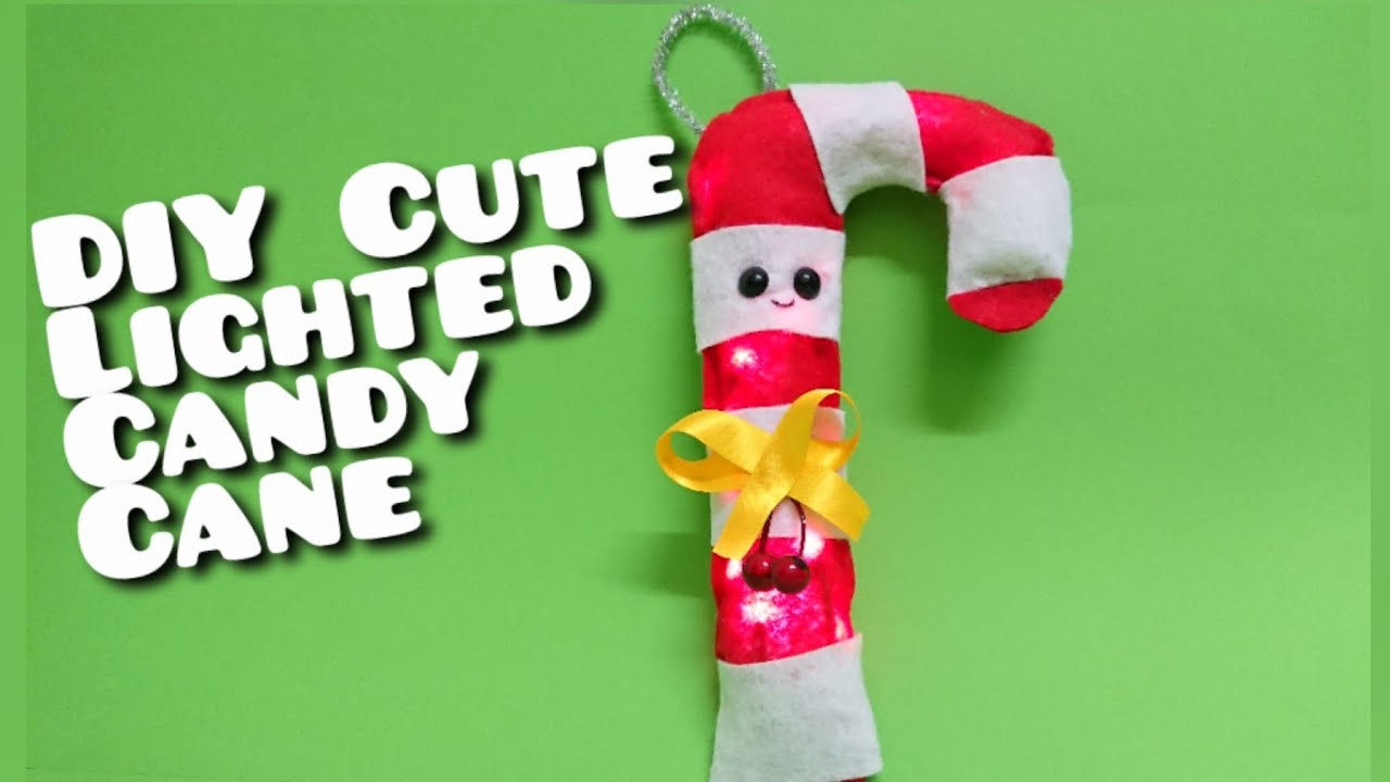 Giant Candy Cane Crafts Large Felt Christmas Tree Decorations