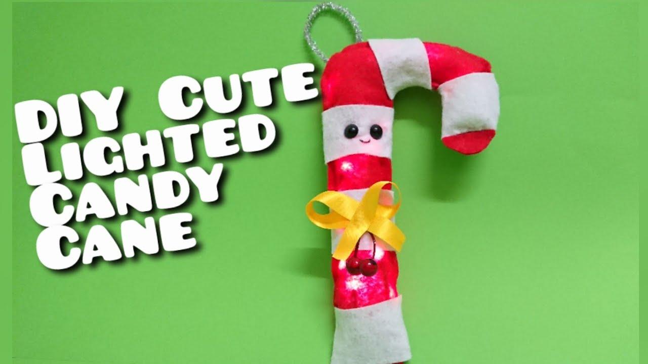 Giant Candy Cane Crafts Large Felt Christmas Tree Decorations Christmas Craft Ideas