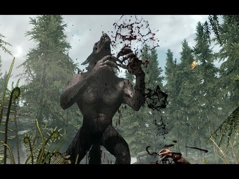 how to get out of werewolf form skyrim ps4