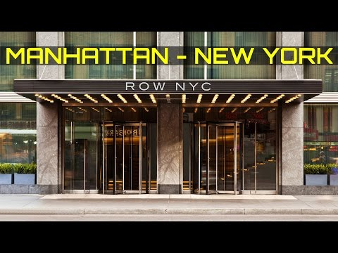 HOTEL ROW NYC NEW YORK CITY MANHATTAN 2017 TIMES SQUARE 8 AVENUE