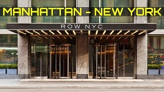 HOTEL ROW NYC NEW YORK CITY MANHATTAN 2017 TIMES SQUARE 8 AVENUE
