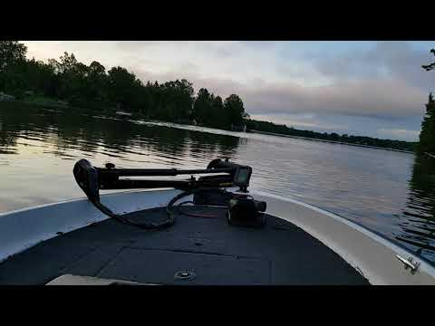Boat ride down the Trent River