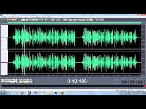 Como grabar, masterizar y guardar un tema de rap en Cool Edit Pro 2.1 TUTORIAL (Consejos)