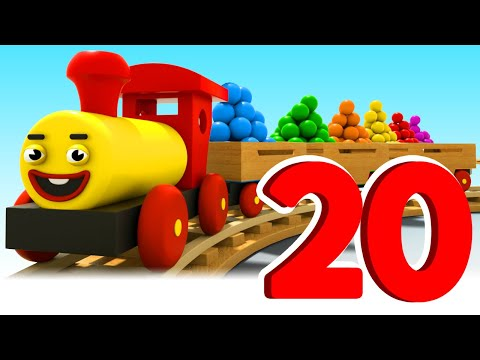 Learning Numbers From 1 To 20 | Cartoon For Toddlers With Tino