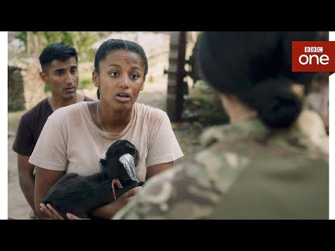 Maisie saves a goat - Our Girl: Series 3 Episode 1 - BBC One