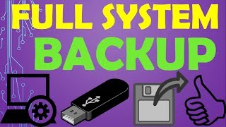 {HINDI} how to create full system backup with all software | backup and restore | full drive backup✔