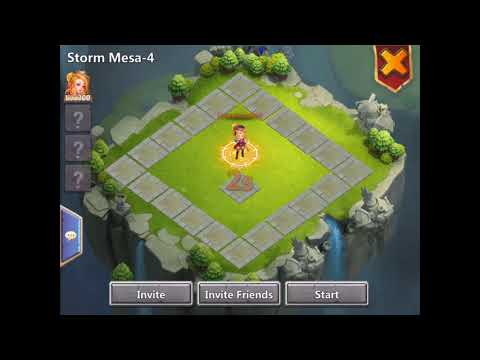 Storm Mesa 4 Solo Take 2 Castle Clash