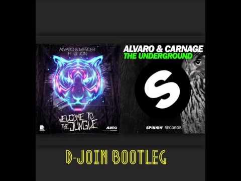 Alvaro Mercer vs Carnage vs Lil Jon - Welcome to the jungle vs The Underground ( D-JoIN Bootleg)