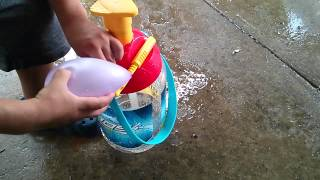 Make Water Balloons: Imperial Toy Kaos Portable Pumping Station