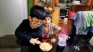 Kids cooking!Kids are showing rooh afza drink recipes !kids video!
