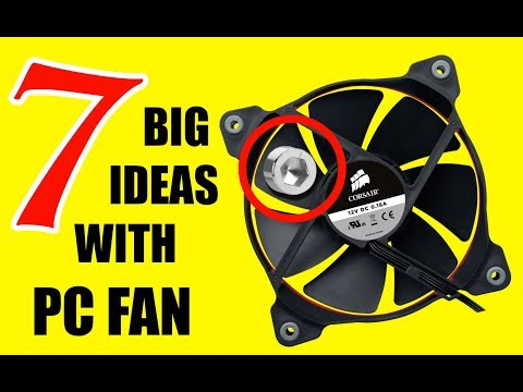 7 INCREDIBLE Projects with a simple FAN