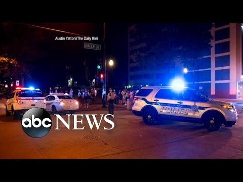 University of Illinois Campus Shooting   Authorities Look for Suspect