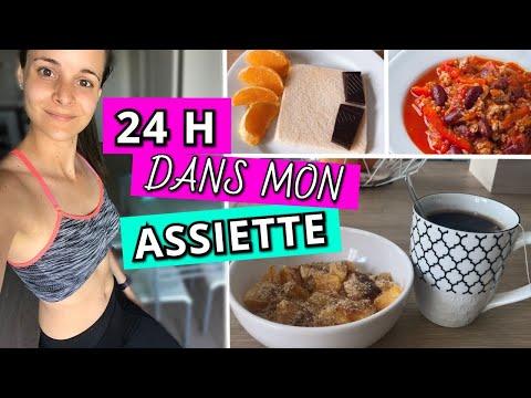 vlog-/une-journée-dans-mon-assiette-!-#fitgirl---mon-panier-minceur-(céline)