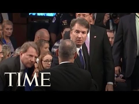 Parkland Victim's Father: Brett Kavanaugh 'Turned His Back' To Him At Confirmation Hearing | TIME